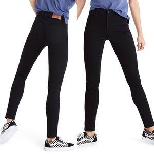 Madewell Roadtripper Skinny Jeans Black Size 27
